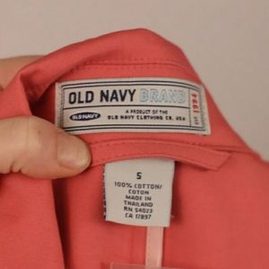 Old Navy Jackets & Coats - NWOT Old Navy Coral Trench Coat XL